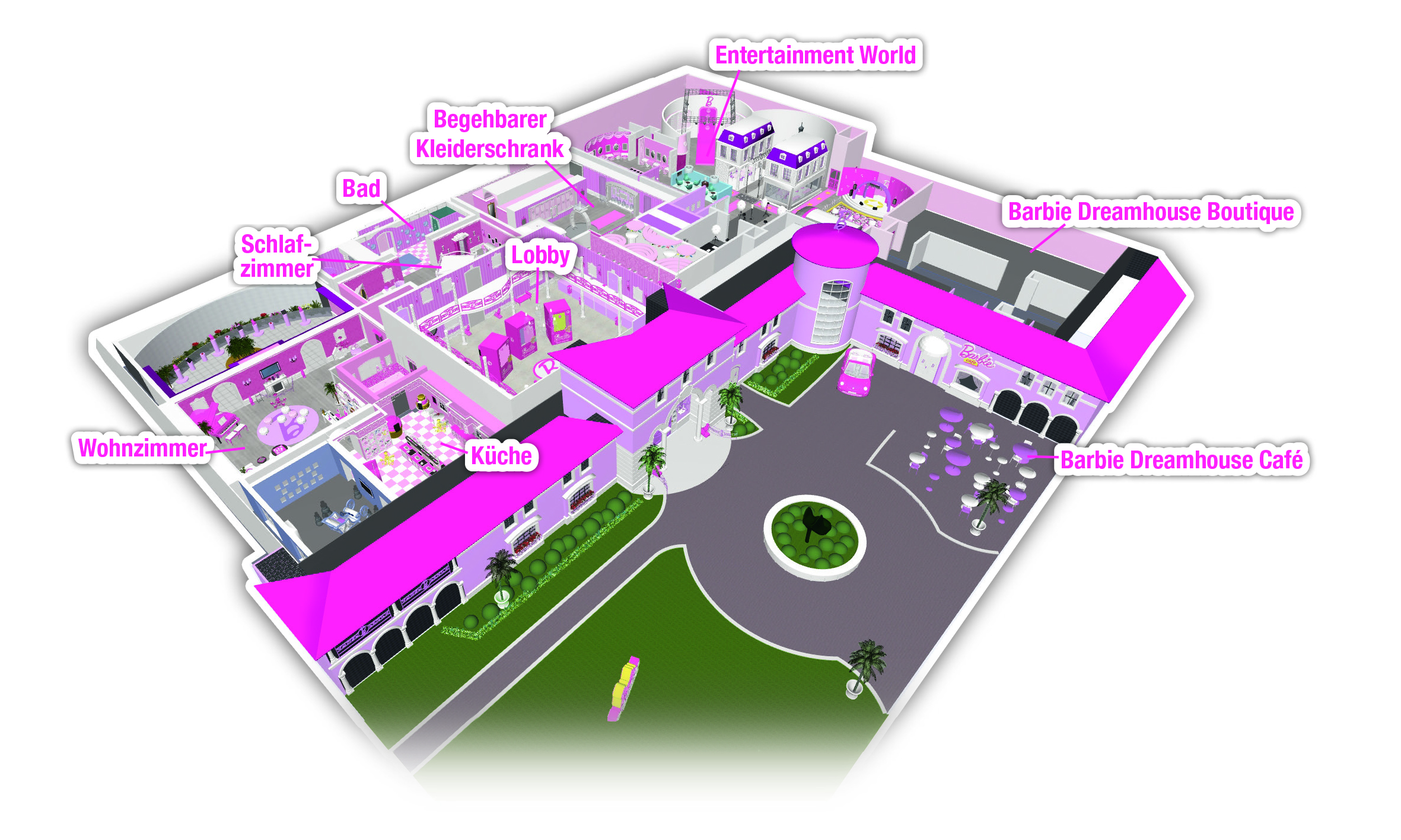 Barbie the dreamhouse experience photo gallery ems for Dream house website